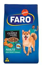 Ração Faro Affinity Raças Médias e Grandes Frango, Legumes e Nuggets para Cães Adultos