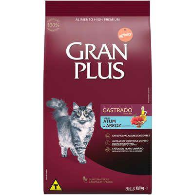 Ração Seca Affinity GranPlus Atum & Arroz para Gatos Castrados