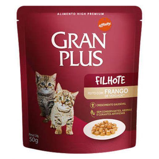 Ração Úmida Affinity GranPlus Sachê Frango para Gatos Filhotes