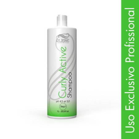 Shampoo Anti Resíduo para Permanente Afro e Desprogressiva Curly Active 1000ml