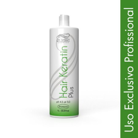 Shampoo Anti Resíduo Profissional Hair Keratin Plus 1000ml