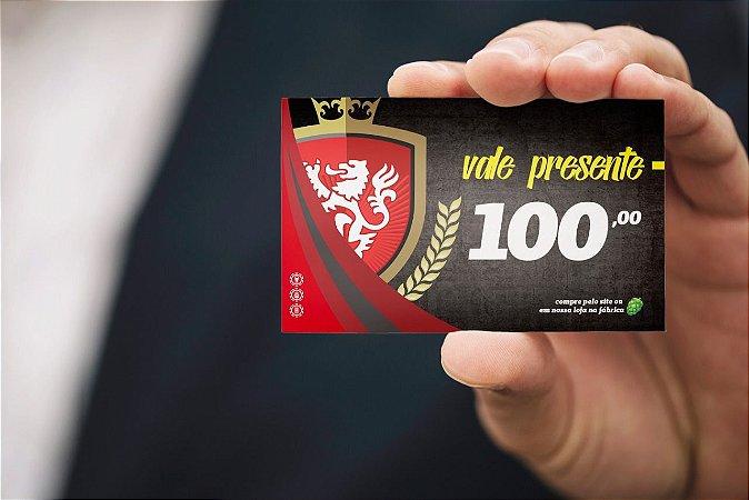 Cartão de Presente R$100,00
