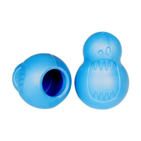 Brinquedo Mordedor Monstrinho Recheável - Azul