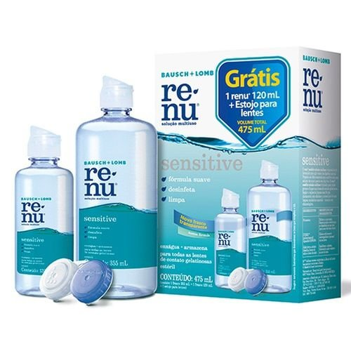 renu sensitive multiuso packon 420 ml