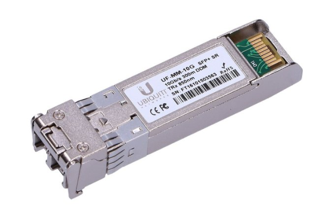 UBNT UF-MM-10G SFP+ 10G 300M LC 850-850NM 2-PACK