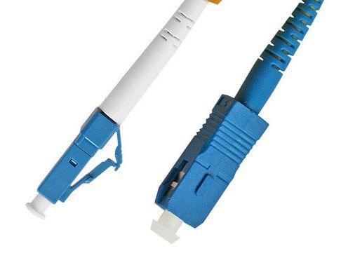 PATCH CORD SC-UPC LC-UPC SINGLE MODE 3.0MM 3M