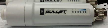 UBIQUITI BULLETM2-HP 2.4GHZ OUTDOOR 600MW AIRMAX HP