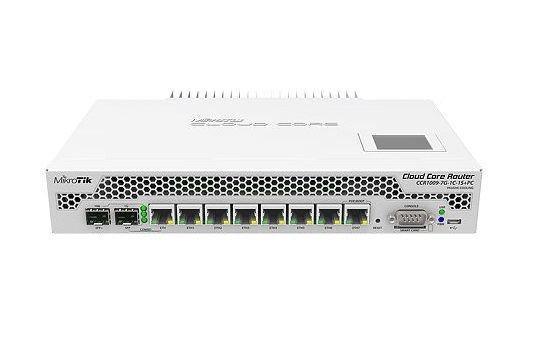 MIKROTIK CLOUD CORE ROUTER CCR1009-7G-1C-1S+PC