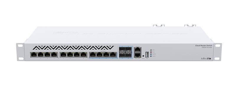 MIKROTIK CLOUD ROUTER SWITCH CRS312-4C+8XG-RM L6