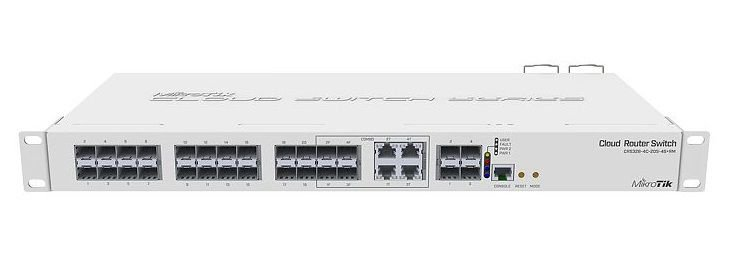 MIKROTIK SMART SWITCH CRS328-4C-20S-4S+RM L5