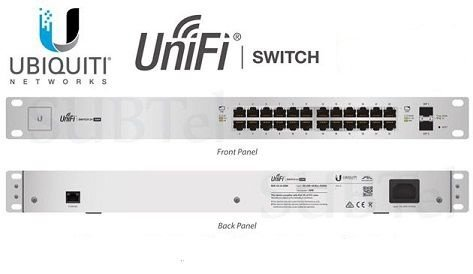 UBIQUITI US-24-250W UNIFI SWITCH 24-PORT POE + 2P SFP