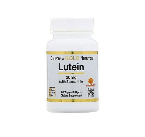 Luteína e Zeaxantina California Gold Nutrition