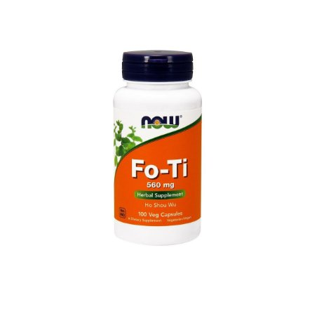 Fo Ti Root Ho Shou Wu 560mg 100 Capsulas Now