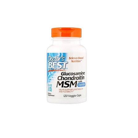 Glucosamina Condroitina Msm Doctor's Best® 120 Cápsulas