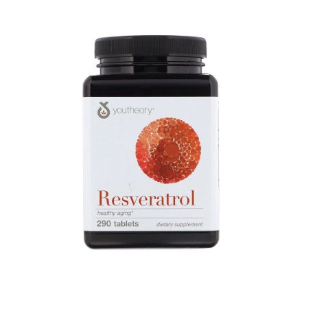 Trans Resveratrol 250mg Com 290 Cápsulas Youtheory
