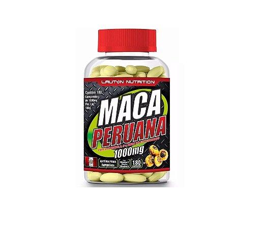 Maca Peruana 1000mg 180 Cápsulas Lauton Nutrition