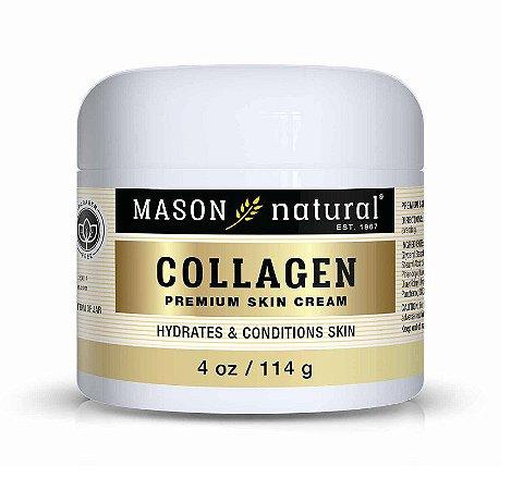 Colágeno Em Creme Premium 57g Mason Natural Importado EUA