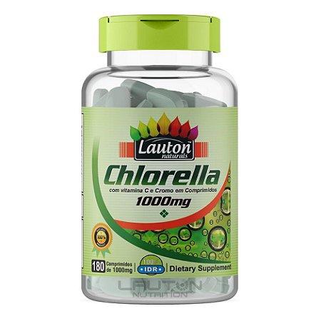 Clorela 1000mg Com Vitamina C e Chromo Chlorella Lauton