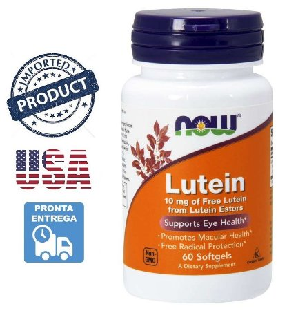 Luteína 10mg Importada EUA Saúde Visão Imunidade