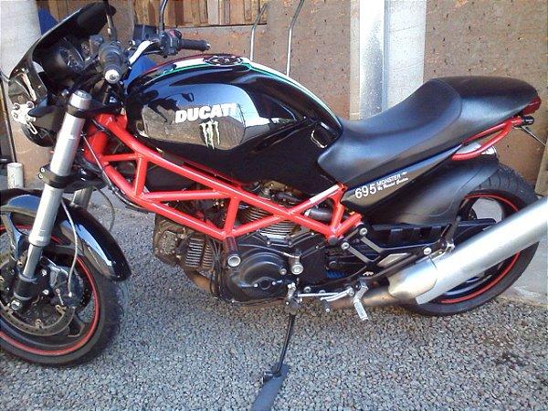 Kit Relação Correia Dentada - Ducati Monster 695 - todas