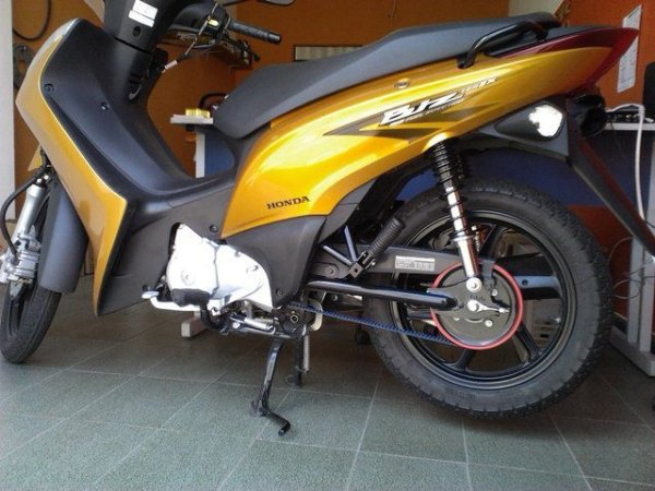 KIT Relação correia Honda BIZ100 - BIZ 125 - POP100 - POP 110i