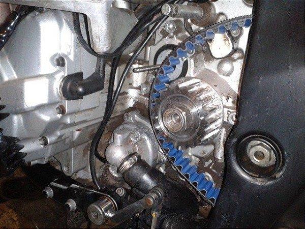 KIT Relação Correia Dentada Suzuki Bandit GSX 650 2007/2009 Carburada