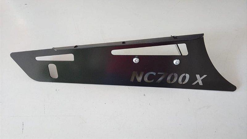 Protetor Inferior da Transmissão - Honda NC700X   NC 700