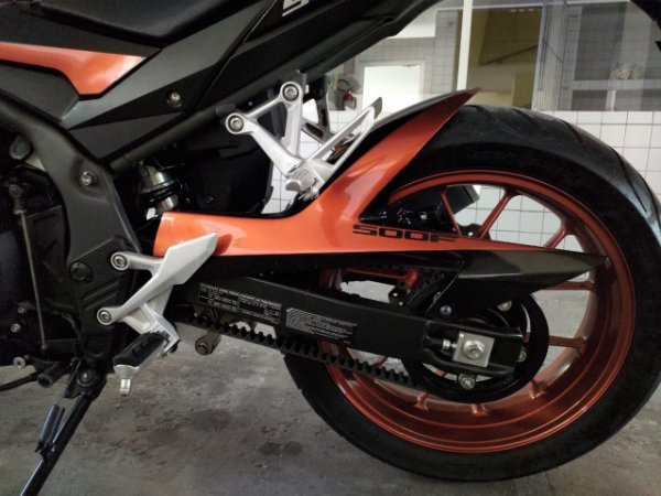 KIT Relação Correia Dentada - Honda CB500 F - Nova 2020