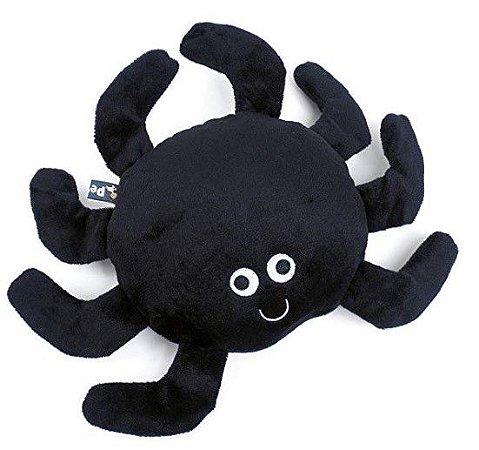 Aranha de Tecido e Borracha Resistente com Barulho - Cód. 30267