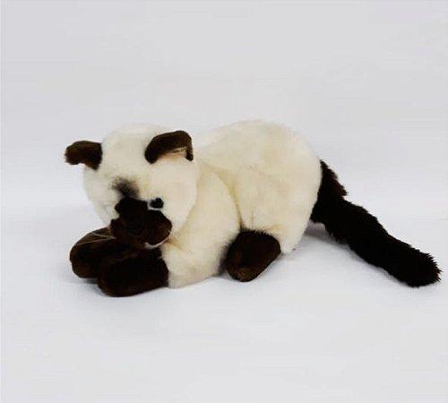 Gato Siamês - 35cm  Cód.50