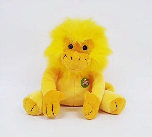 Macaco Amarelo (Mico Leão Dourado) - 22cm Cód.66
