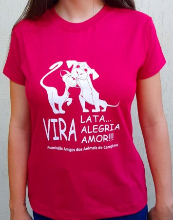 Camiseta AAAC Viralata PINK