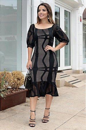 Vestido Camille Preto
