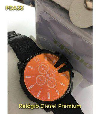 Diesel 10BAR P/COURO - Preto e Vermelho