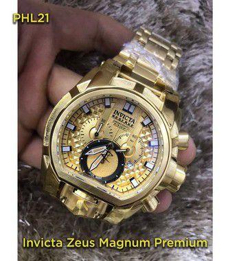 Invicta Zeus Magnum - Dourado