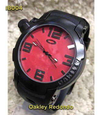 OAKLEY 1º LINHA - Preto e Vermelho