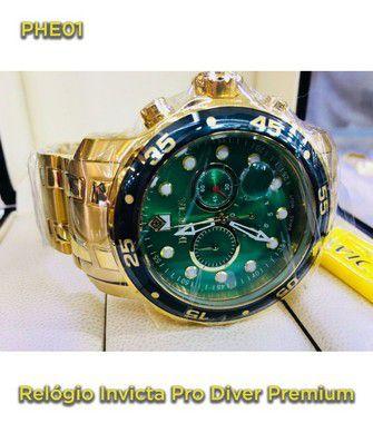 Pro Driver P/aço - Dourado e Verde