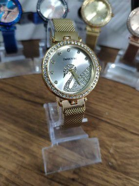Relógio feminino Swarovski - Dourado