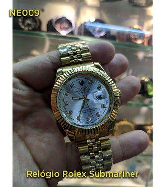 Rolex Daydate - Dourado e Branco