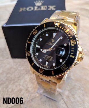 Rolex Submariner - Dourado e Preto