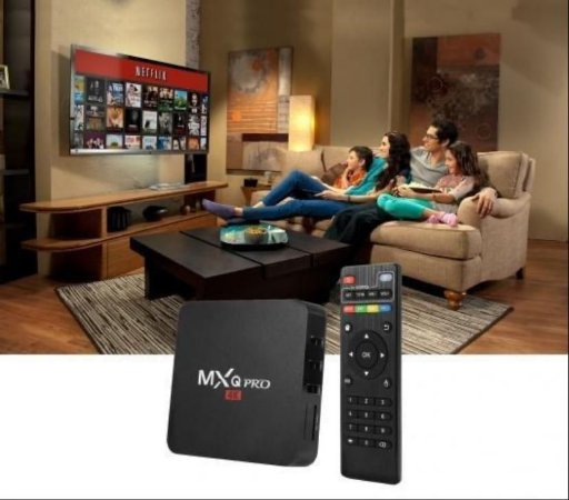 TV Box - 4G Ram ,64g interna