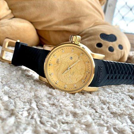 Yakuza Bateria - Preto e Dourado