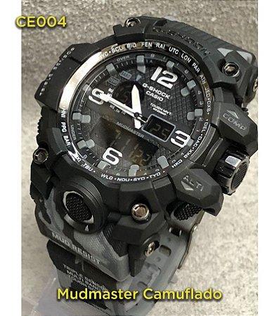 Mudmaster Camuflado - Cinza com preto