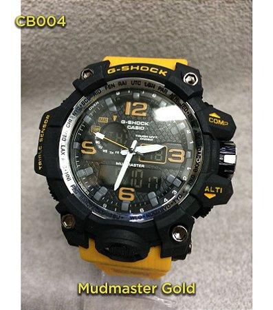 Gshock Mudmaster Gold - Amarelo