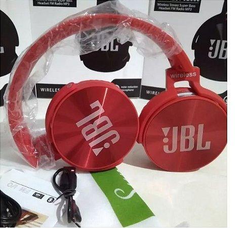Fone JBL Bluetooth - Vermelho