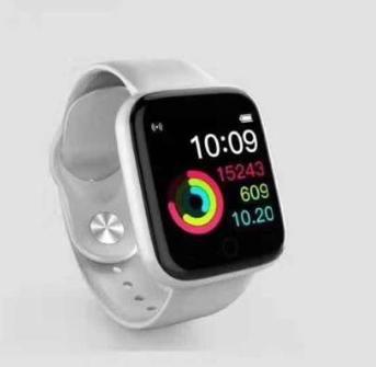 Smartwatch D20 Prata