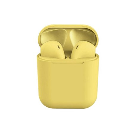 Fone i12  Colors Amarelo