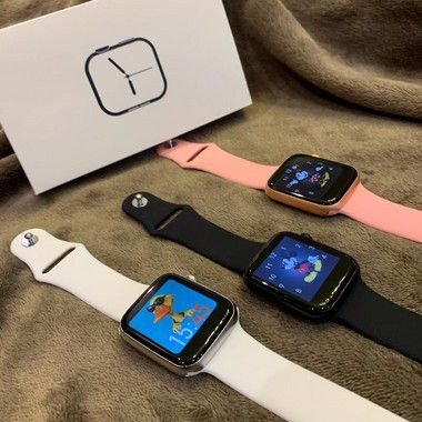 Smartwatch LD5 + pulseira extra  grátis - BRANCO