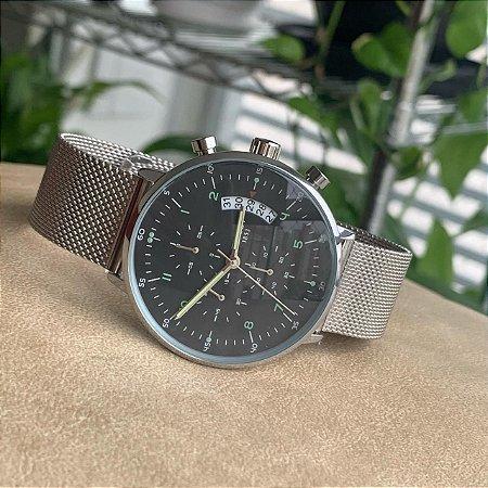 Relógio Tissot Prata e Preto