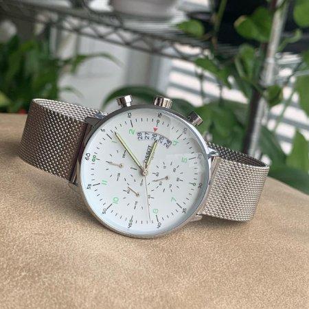 Relógio Tissot Prata e Branco